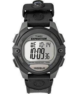 Expedition ChronoAlarmTimer 41mm Nylon Strap Watch Gray/Black large