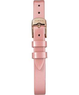 Milano Oval 24 mm con cinturino in vernice Oro rosa/Rosa/Silver large