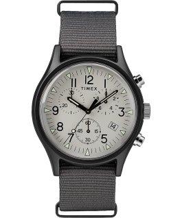 MK1 Aluminum Chronograph 40mm Nylon Strap Watch Gray large