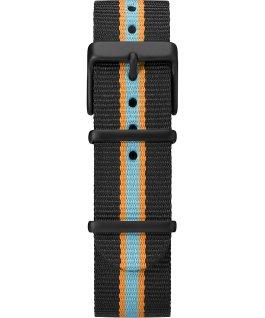 MK1 California 40mm Fabric Strap Watch Black/Blue large