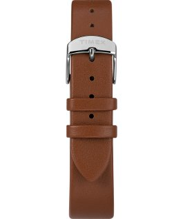 Timex X Peanuts Exclusively for Todd Snyder Featuring Snoopy 34mm Leather Strap Watch Stainless-Steel/Brown/Red large