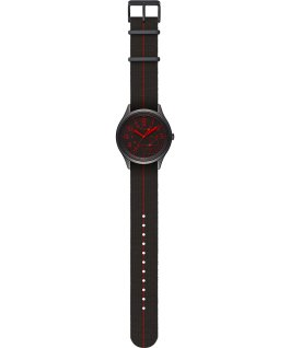 iQ+ Move 41mm Elastic Fabric Strap with Colored Lens Black large