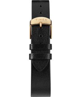 Montre Transcend 38mm avec bracelet accessoire en cuir Doré/Noir large