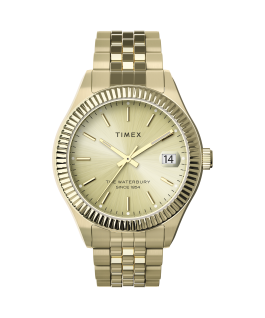 Waterbury Legacy 34mm Stainless Steel Bracelet Watch Gold-Tone large