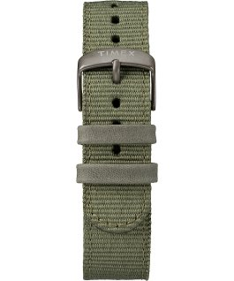 Scout 40mm Fabric Strap Watch Gray/Green large