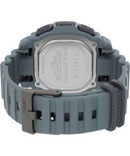 BST 47mm Silicone Strap Watch Blue/Gray large