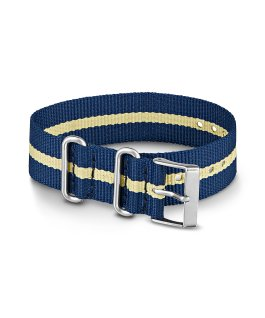 20mm Nylon Strap 2 Blue large