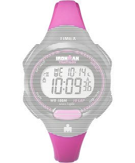 Replacement 12mm Resin Strap for Ironman Essential 10 Mid-Size Pink large