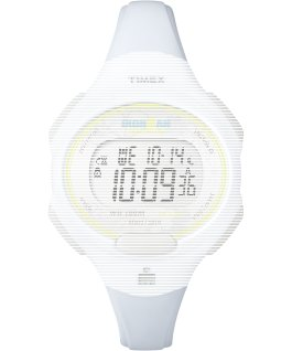 Replacement 12mm Resin Strap for Ironman Essential 10 Mid-Size White large