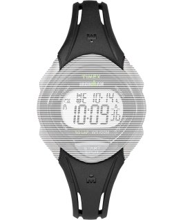 Replacement 16mm Resin Strap for Ironman Sleek 30 Mid Size Black large