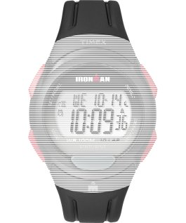 Replacement 16mm Matte Resin Strap for Ironman Essential 10 Full-Size Black large