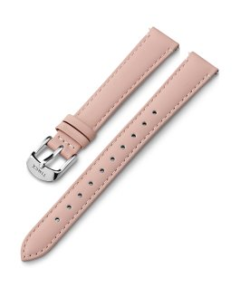 14mm Silver Buckle Leather Strap Pink large