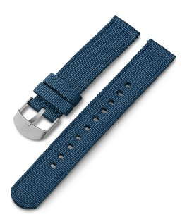 18mm Fabric Strap Blue large