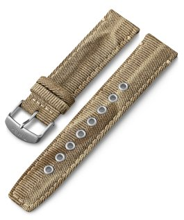20mm Quick Release Fabric Strap Tan large