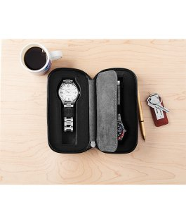 Black-Leather-Watch-Case-for-2-Watches Black large