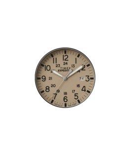 Beiges Ziffernblatt/grauer Sekundenzeiger  large