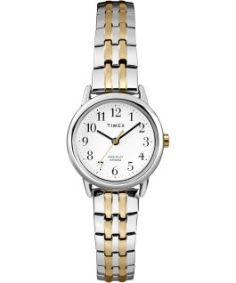 Easy Reader 25mm Stainless Steel Watch Silver-Tone/Two-Tone/White large