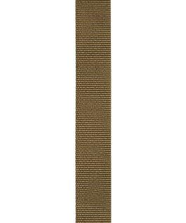 Correa ligera de tela de otomán de inspiración militar Oscuro large