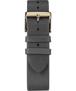Fairfield 41mm Leather Watch Gold-Tone/Black large