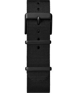 MK1 aluminium 40mm grande, bracelet en nylon noir