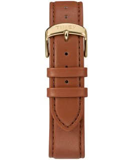 Fairfield Sub-Second 41mm Leather Watch Gold-Tone/Brown/Cream large