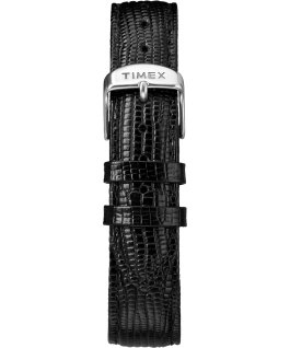 Marlin 34 mm a carica manuale con cinturino in pelle Black/Silver-Tone large