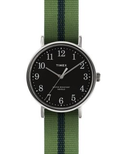 Fairfield Village 37mm Grosgrain Strap Watch  large