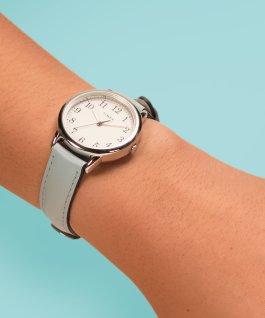 Easy Reader aux couleurs vives 30mm pour femmes, grande, bracelet en cuir ton or rose/rose/crème