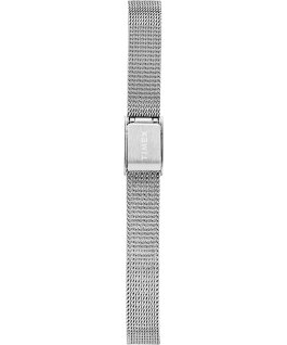 Milano Oval 24mm Stainless Steel Mesh Bracelet Watch Silver-Tone/Stainless-Steel large