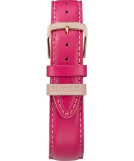 Easy-Reader-Damenuhr-exklusives-Color-Pop-Lederarmband-38-mm Roségoldfarben/rosa/weiß large