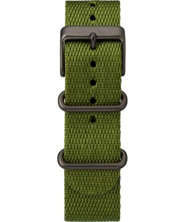 Standard 40mm Fabric Strap Watch Black/Green/Natural large