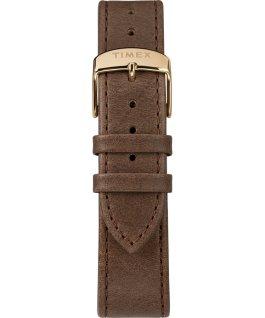 Orologio Standard Chronograph 41 mm con cinturino in pelle Dorato/Marrone/Grigio large
