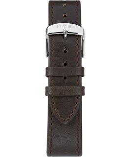 Orologio Standard Chronograph 41 mm con cinturino in pelle Silver/Marrone/Crema large
