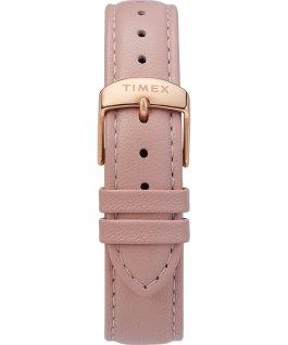 Zegarek Fairfield z kopertą 37 mm i skórzanym paskiem Różowe złoto/Różowy/Kremowy large