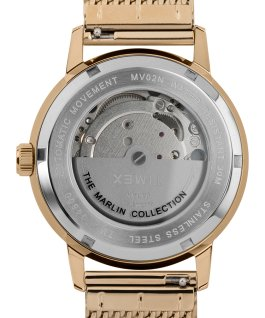 Marlin 40mm Automatic Mesh Bracelet Watch Gold-Tone/Silver-Tone large