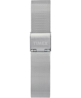 Waterbury Traditional Womens 34mm Mesh Bracelet Watch Stainless-Steel/Silver-Tone/Blue large