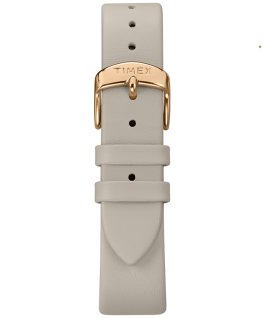 Crystal Opulence with Full Swarovski Dial 38mm Leather Strap Watch Grey/White large