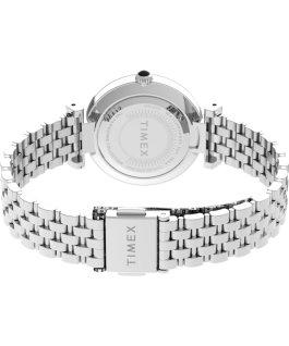 Orologio Parisienne 28 mm con bracciale in acciaio Silver/Madreperla large
