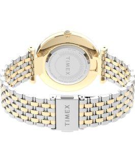 Zegarek Parisienne 35 mm ze stalową bransoletą Dwukolorowy/Perłowy large