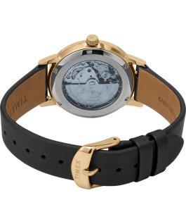Zegarek Crystal Opulence Automatic 38 mm z paskiem materiałowym Złoty/Czarny large