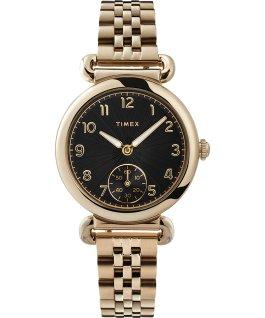 Zegarek Model 23 33 mm ze stalową bransoletą Złoty/Czarny large