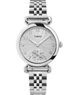 Zegarek Model 23 33 mm ze stalową bransoletą Srebrny large
