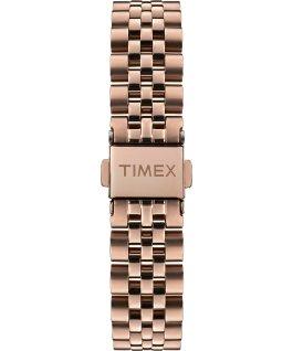 Zegarek Model 23 38 mm ze stalową bransoletą Różowe złoto/Perłowy large
