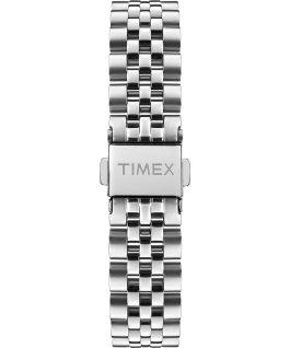 Zegarek Model 23 38 mm ze stalową bransoletą Srebrny/Perłowy large