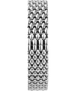 Milano mit Armband aus Edelstahl, 33 mm Silberfarben large