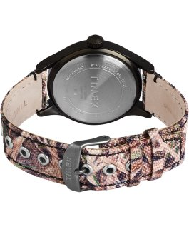 Montre Timex x Mossy Oak Expedition Scout 40 mm Bracelet en tissu Noir/Marron/Vert large