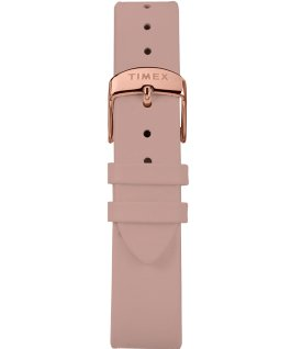 Marlin Ladies 34mm Hand-Wound Leather Strap Watch Rose-Gold-Tone/Pink large