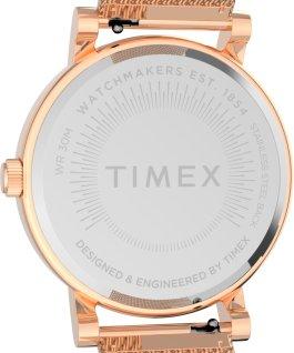 Reloj Originals de 38mm con correa de malla de acero inoxidable Tono oro rosa large