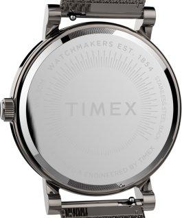 Zegarek Originals 38 mm z siatkową bransoletą ze stali nierdzewnej Stalowoszary/Tytan/Szary large
