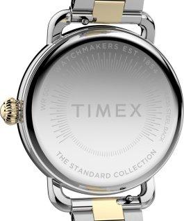 Reloj Standard de 34mm de acero inoxidable Plateado/Dos tonos large
